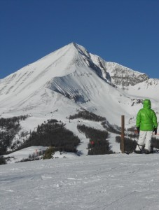 Big Sky Montana Lone Peak snowboarder plan for best ski trip ever