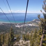 Heavenly Gondola on a late sunny spring day