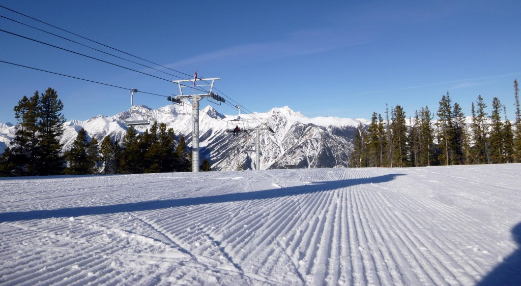 Quality snow even after a week of record warm temperatures at Panorama