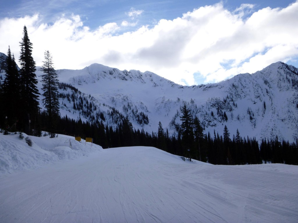 Tons of sidecountry available at Whitewater Ski Resort