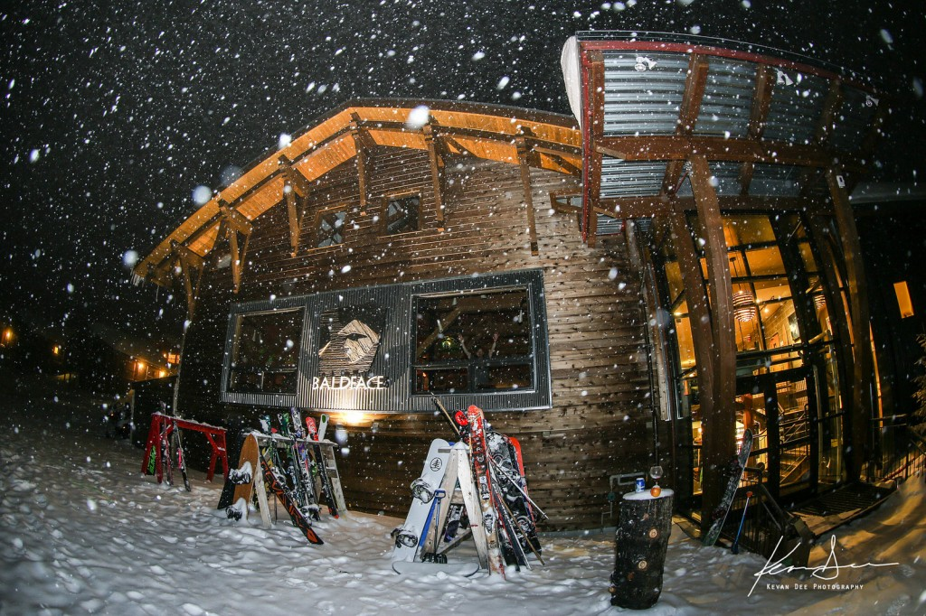 The Baldface Lodge in its element. Lots of freshies to be found. Image taken by Kevan Dee.