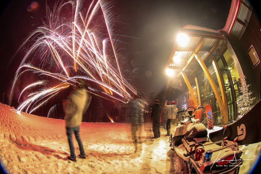 A great way to end the trip. Fireworks! Image taken by Kevan Dee