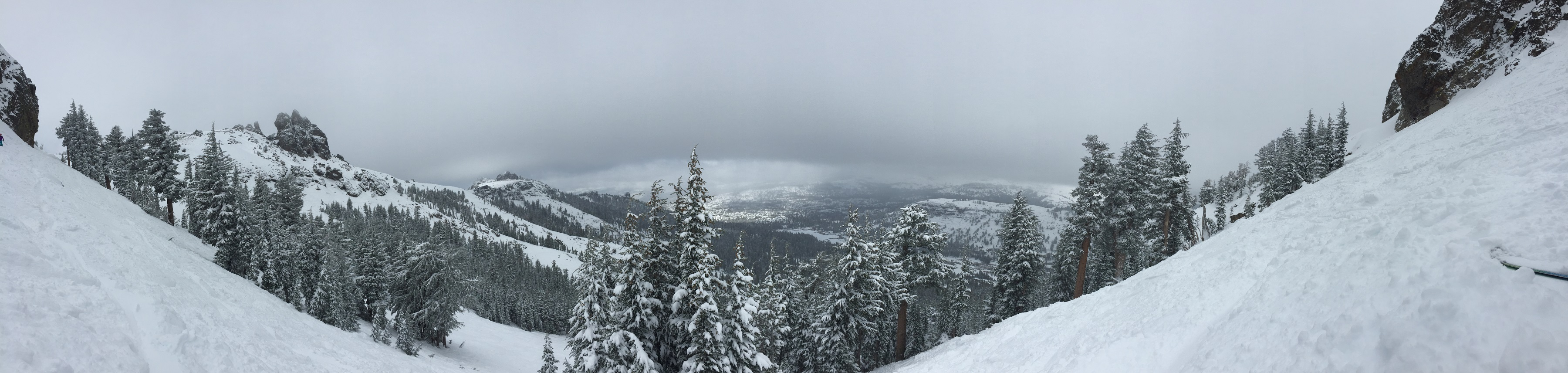 The view from the summit of Kirkwood.
