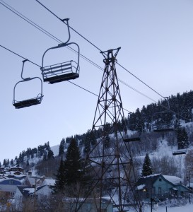 Town Chairlift in Park City - Image taken by Class V