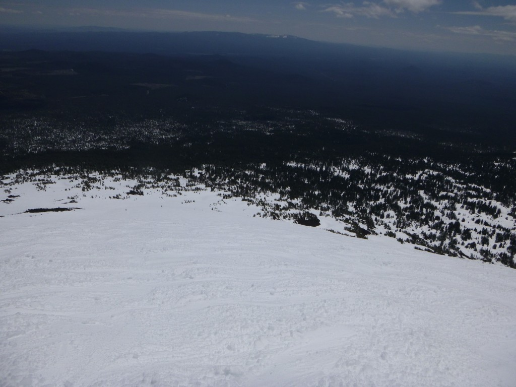 corn snow Mt Bachelor Spring Skiing April