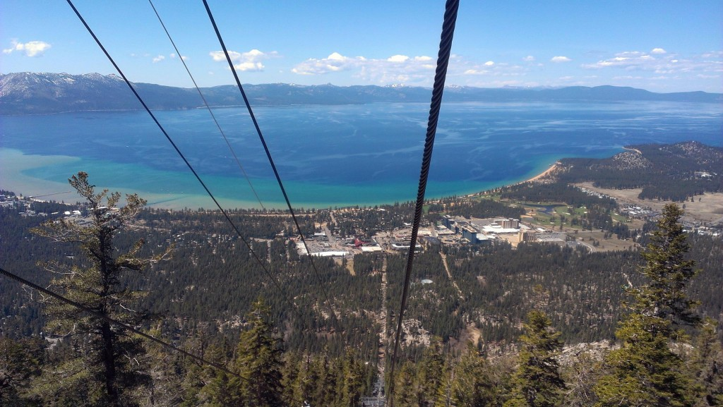 Lake Tahoe always looks good no matter what time of year.