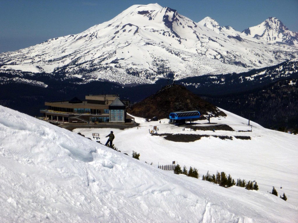 Mt Bachelor Spring Skiing