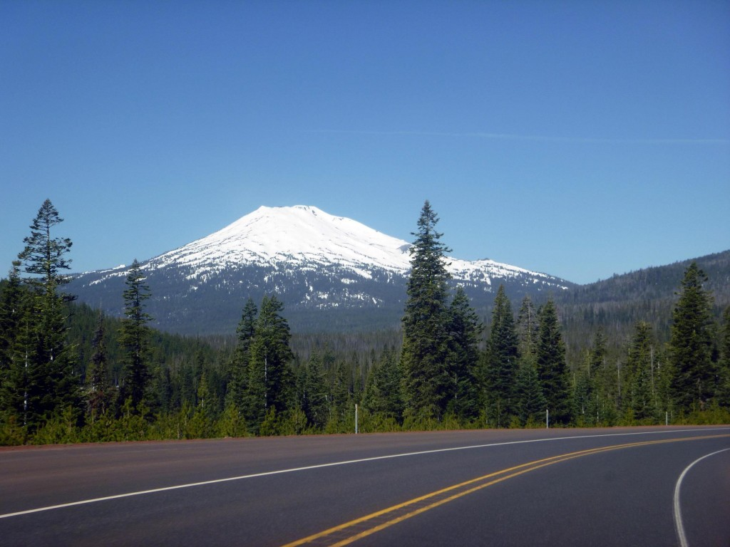 Mt Bachelor ski resort - the epitome of a volcanic peak