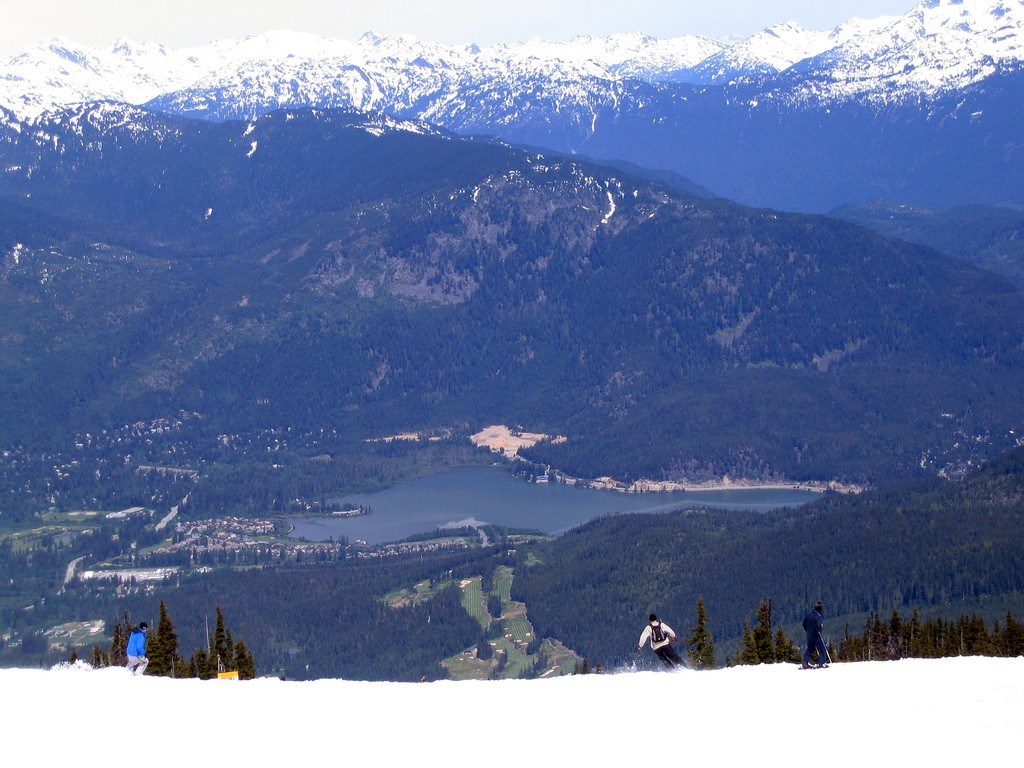 where to ski in june Whistler Blackcomb valley