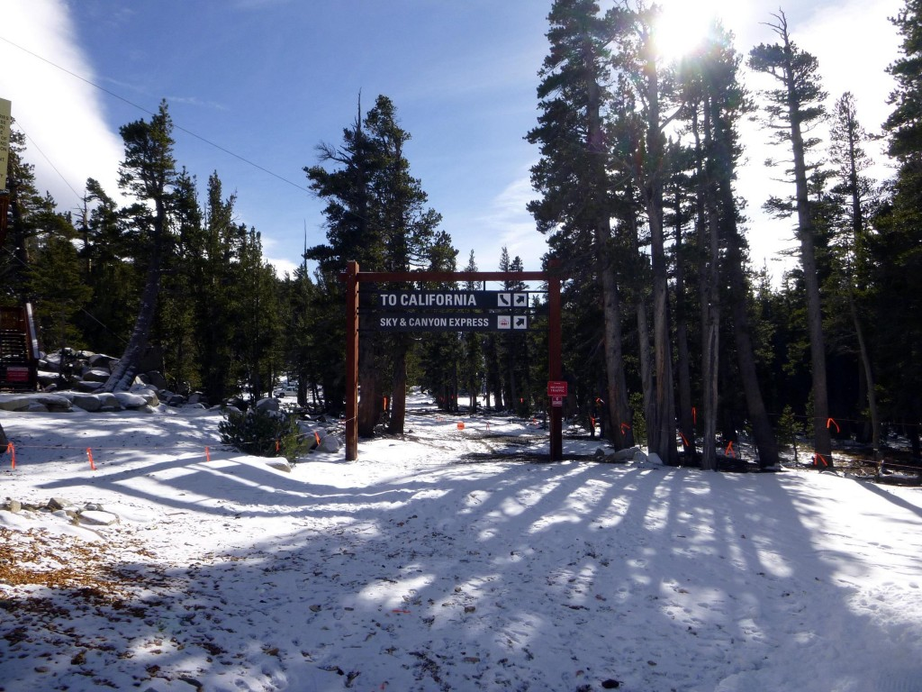 Heavenly Ski Resort limping along through the drought.