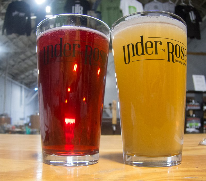 A nice pint of brew is waiting for you at Under the Rose - Image taken by Steve Timko