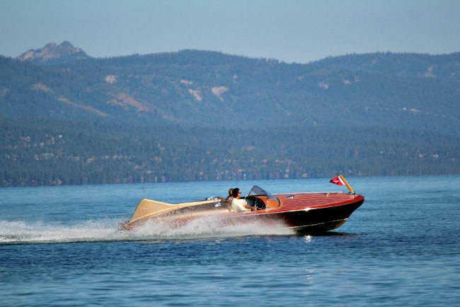 From the 2013 South Tahoe Wooden Boat Classic - Image taken by Steve Natale