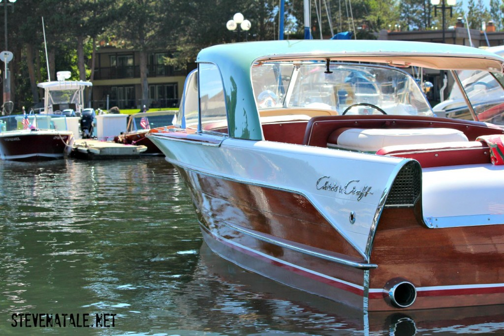 A perfect example of a Chris-Craft - Image taken by Steve Natale