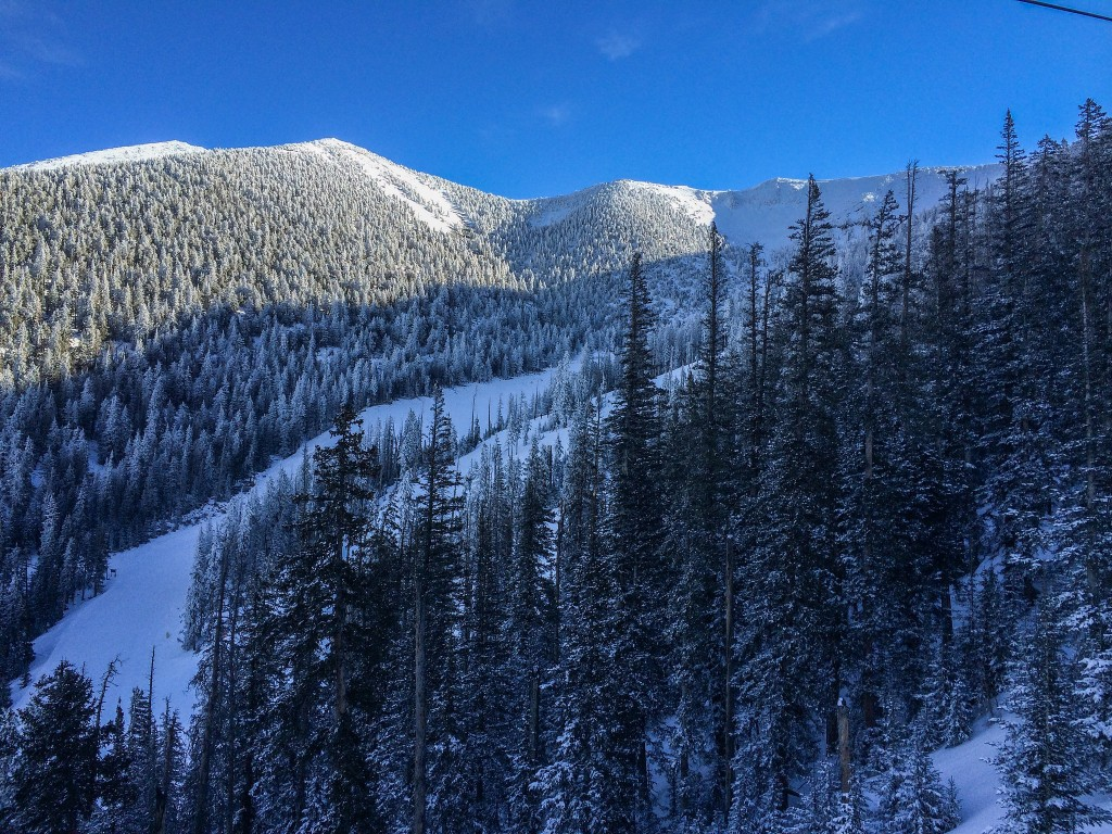 Arizona Snowbowl on a powder day - Image taken by Steven AKBlackBear