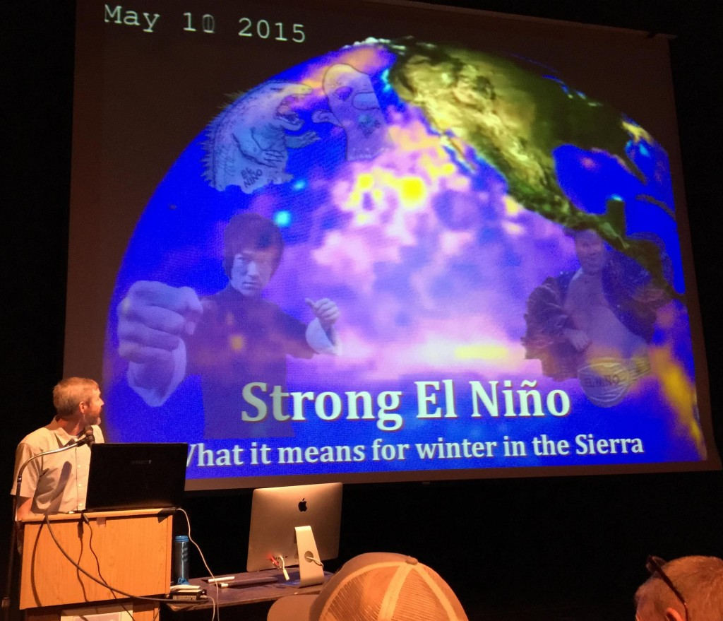 David Reichel talks about El Niño.