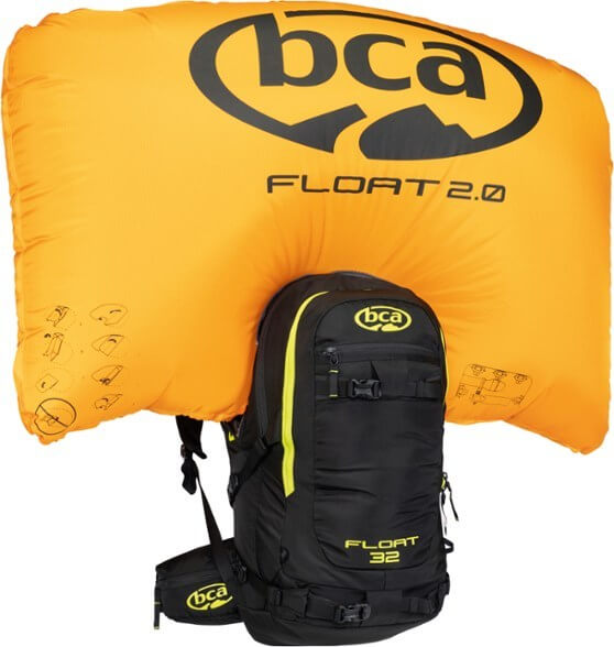 Backcountry Access Float 32 Avalanche Airbag Pack essential piece of backcountry snowboarding gear