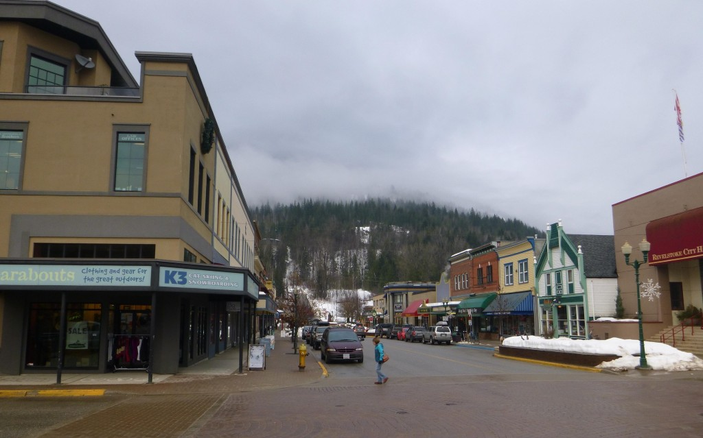 The town of Revelstoke