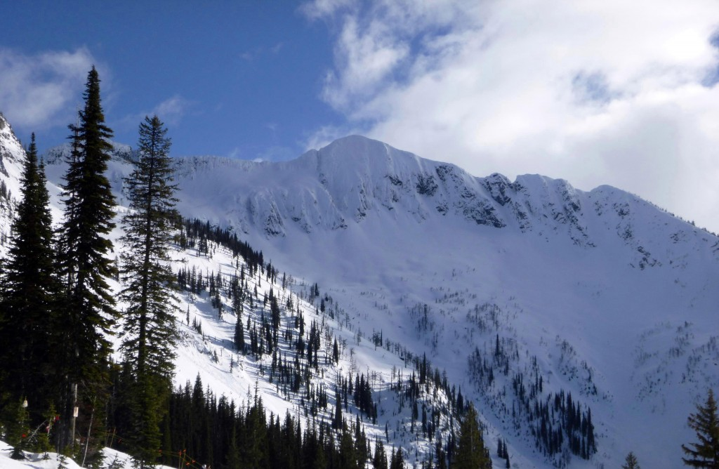 Image Courtesy - Local Freshies Backcountry terrain just outside of Whitewater
