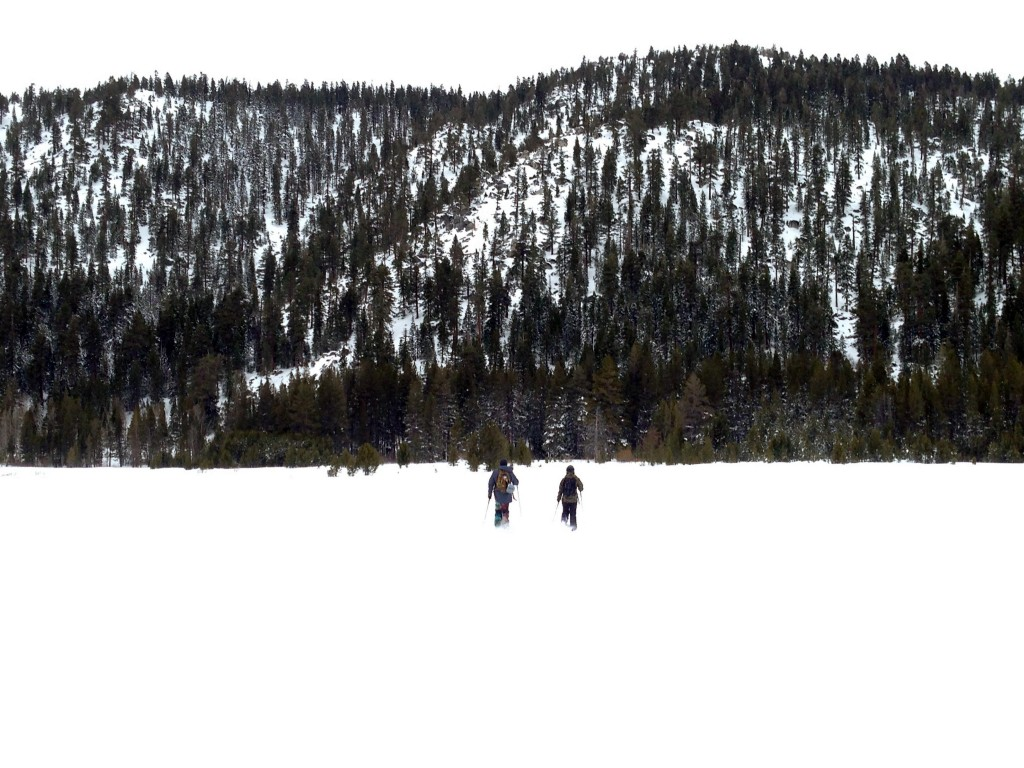 Splitboarding Meadow lake tahoe backcountry