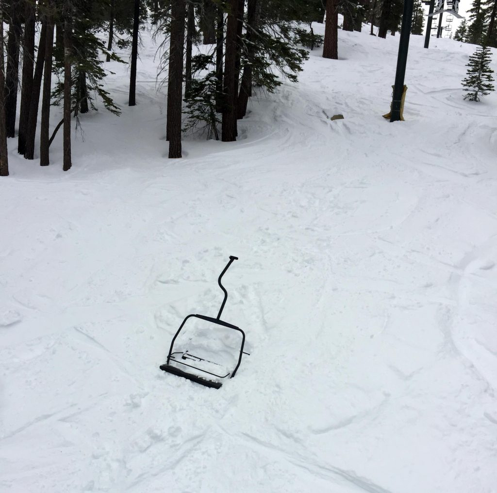 Actual chairlift that fell off.