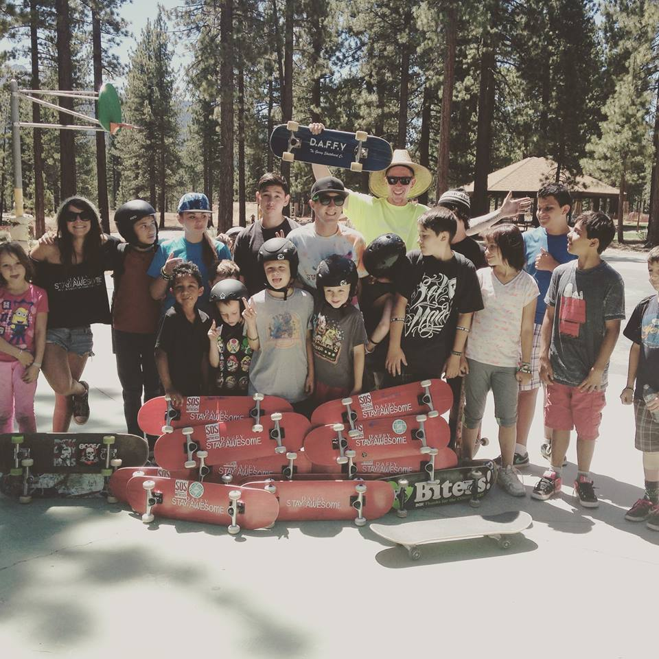 Daffy Skateboards - Helping Underprivileged Youth find an outlet