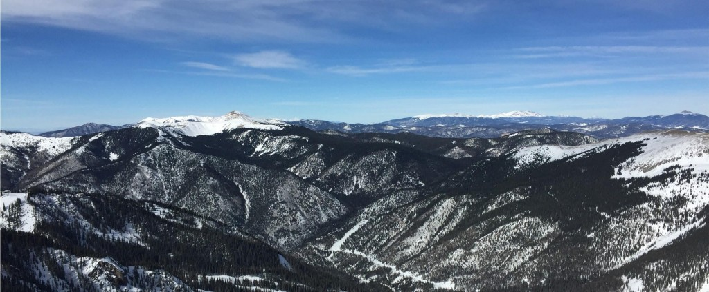 View from the top of Taos. Photo Credit: Q