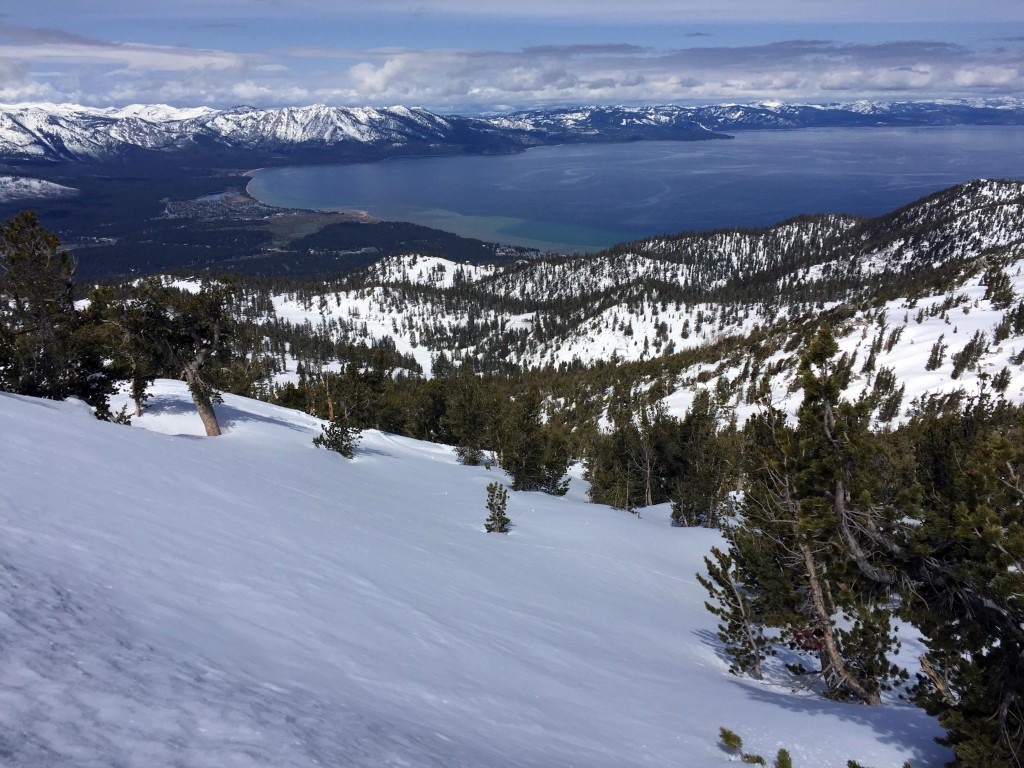 Lake Tahoe Guide Heavenly Ski Resort Summit Winter