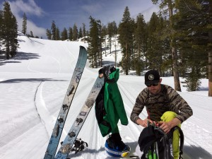 Lake Tahoe Guide Spring Backcountry splitboarding Heavenly