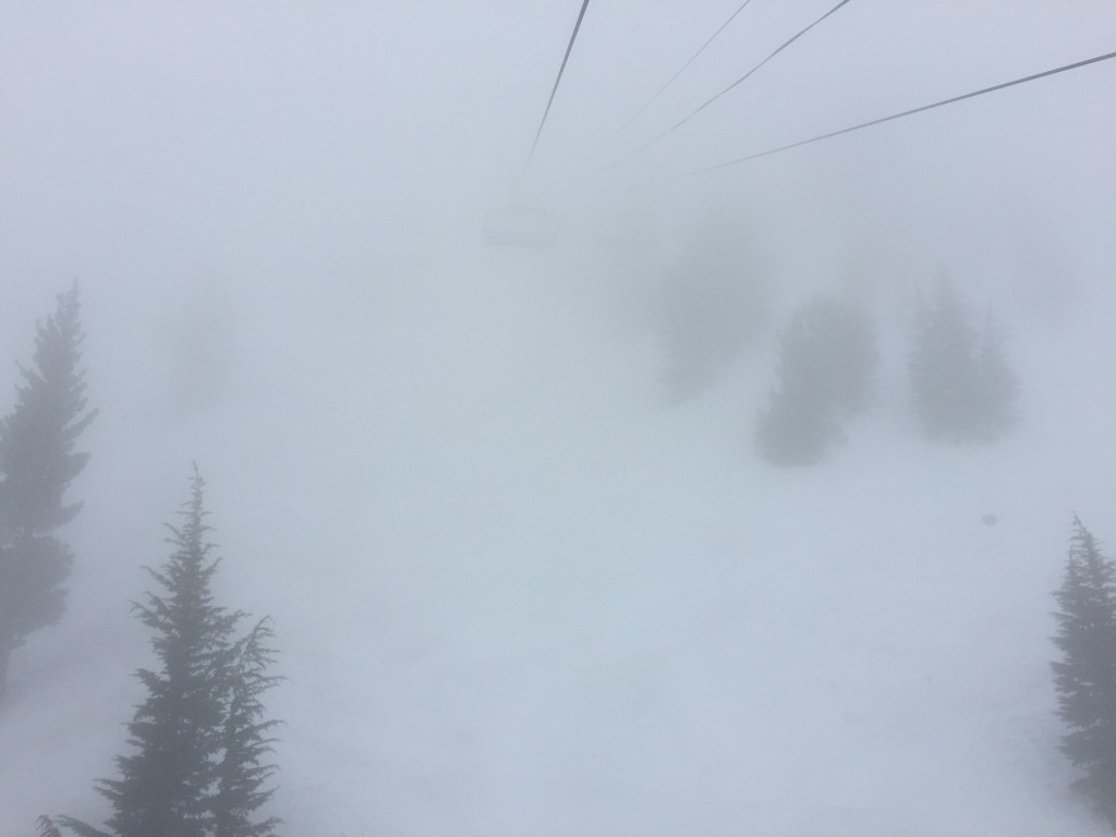 Mt Rose Into the Fog_1