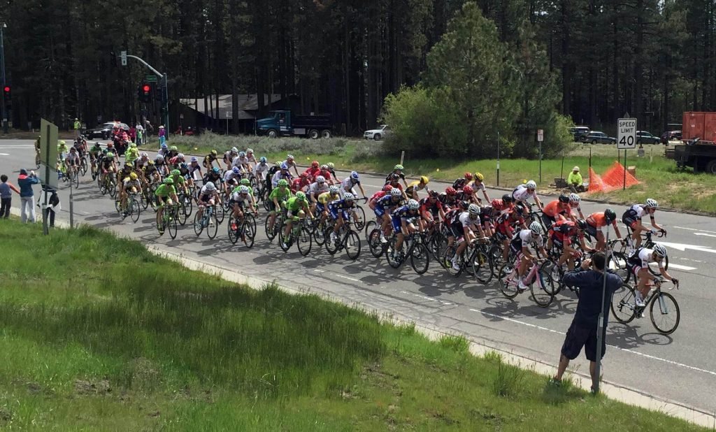 Amgen Tour Of California Peloton
