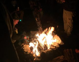 Camping Fire A2