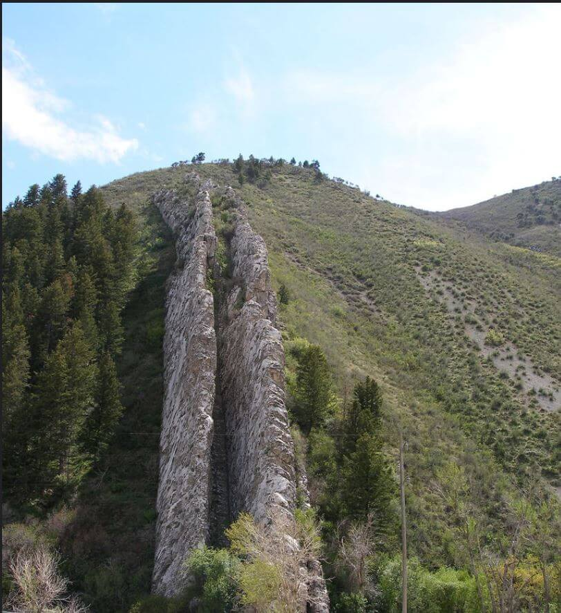 Devil's Slide - Photo Taken by Photographer Karen J. Rasmussen, North Ogden, Utah