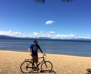 Lake Tahoe Guide Biking Bicycling Uncrowded Beach Summer