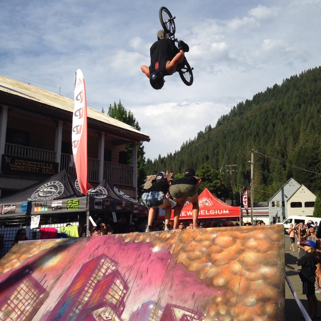 Downieville Backflip - Stephanie Ruff