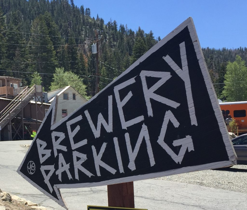 June Lake Brewing Sign