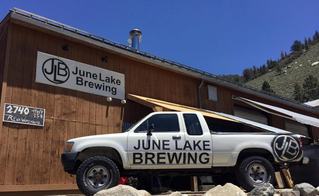 June Lake Brewing 1995 Toyota Tacoma Pickup Truck