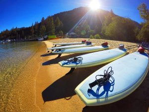 Lake Tahoe Guide SUP Standup Paddleboarding Yoga