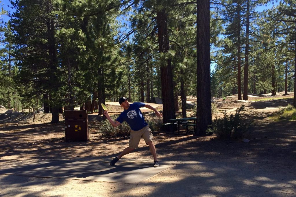 Bijou Disc Golf Shane Throw