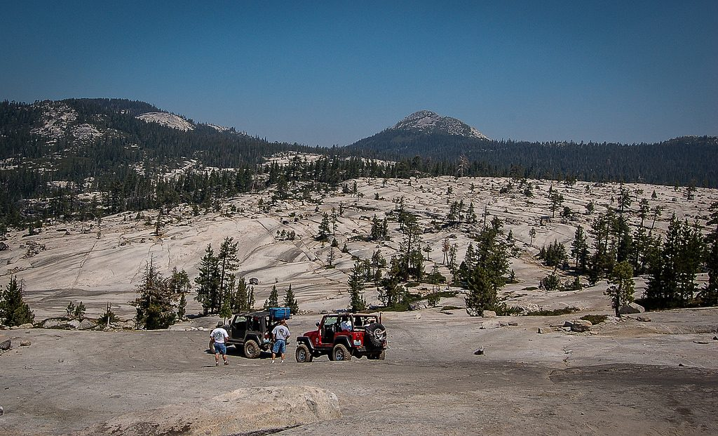 Off road adventures to be had on the legendary Rubicon Trail Lake Tahoe Tahoe City Granite Jeep
