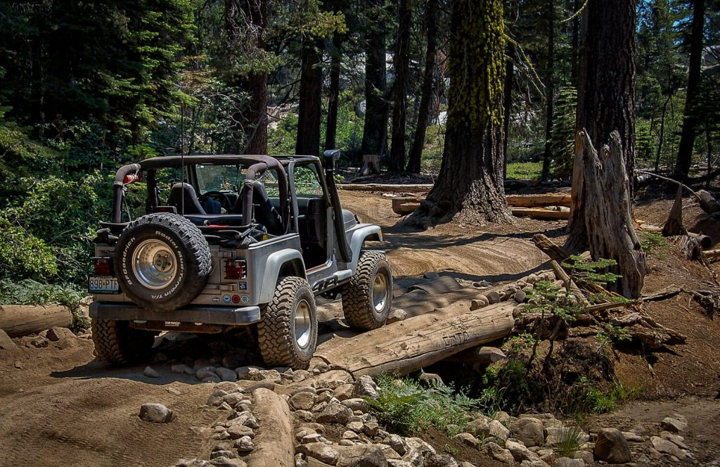 best off roading in ski town Rubicon Trail Lake Tahoe Tahoe City Granite Jeep