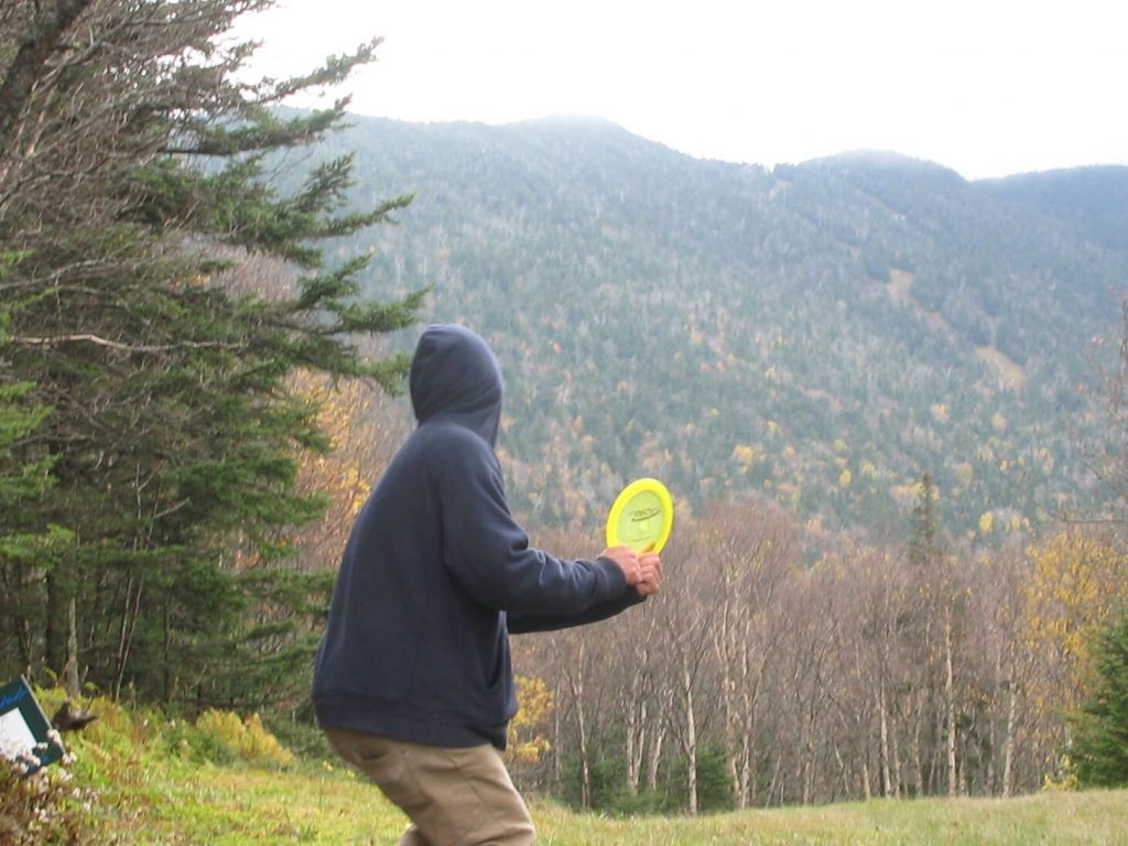 Sugar Bush Vermont Disc Golfing