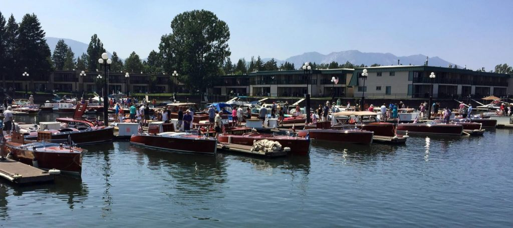 South Lake Tahoe Wooden Boat Show Vintage Antique Boats