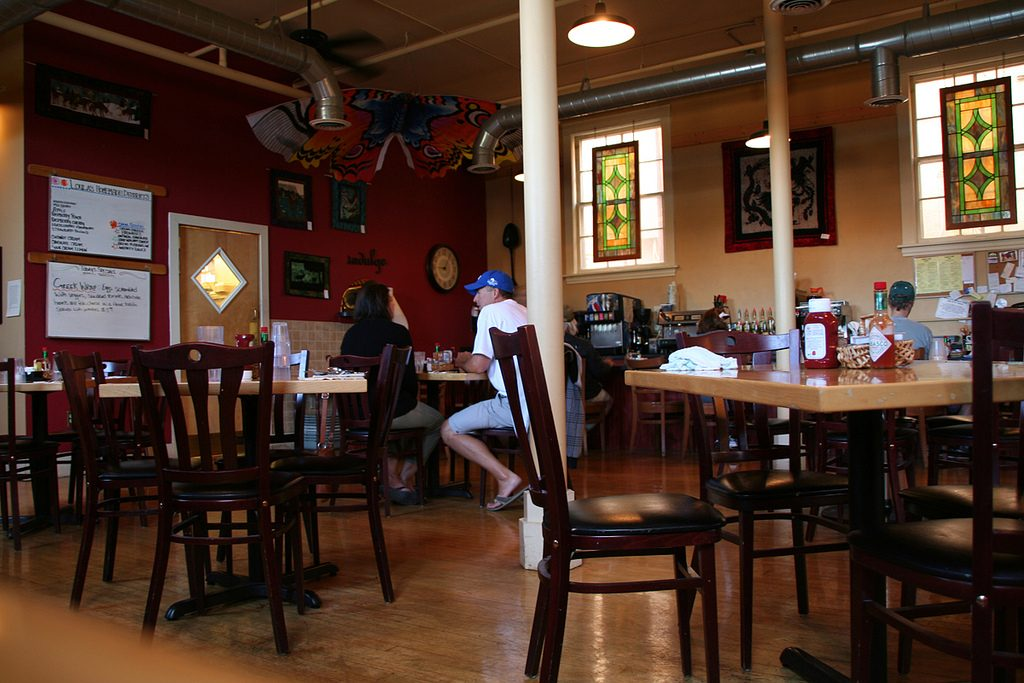 Inside of Loula's Cafe - Image taken by: Steve Owen