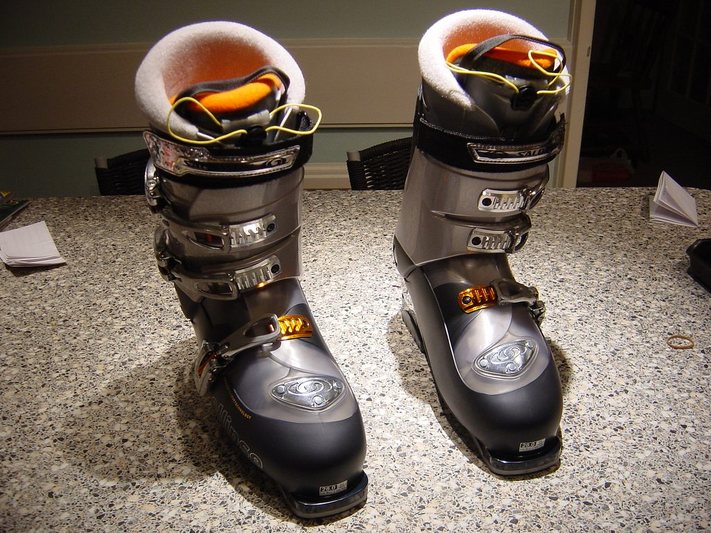 Ski boots - Image taken by Chip_2904