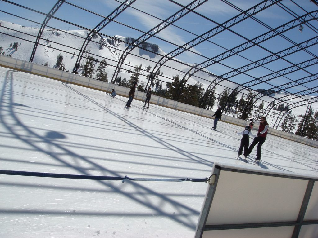 Squaw Valley Olympic Ice Pavillion - Image taken by: Vicky Hsia