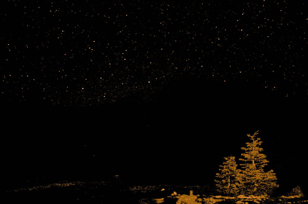 Crystal clear night on Mt. Shasta Image taken by: Zack Holm