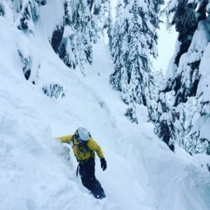 Freeride systems outerwear snowboarding on Mt Baker Ski Resort