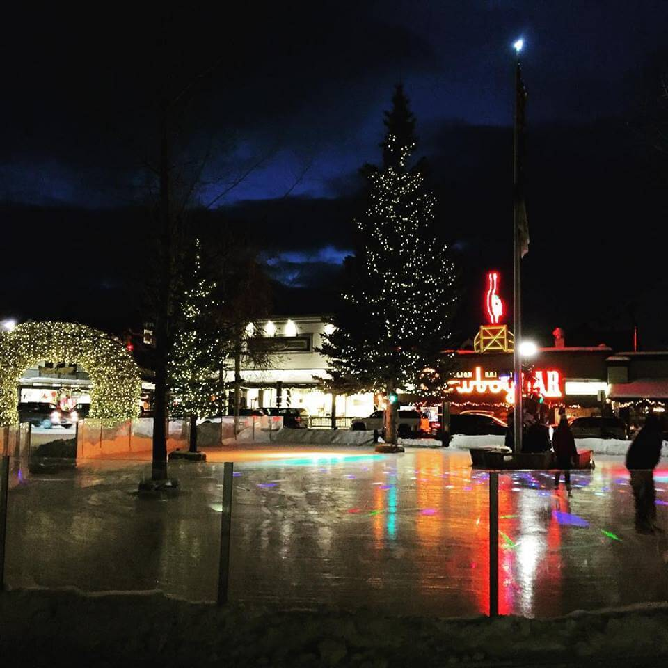 Jackson Hole Town Square Ice Rink