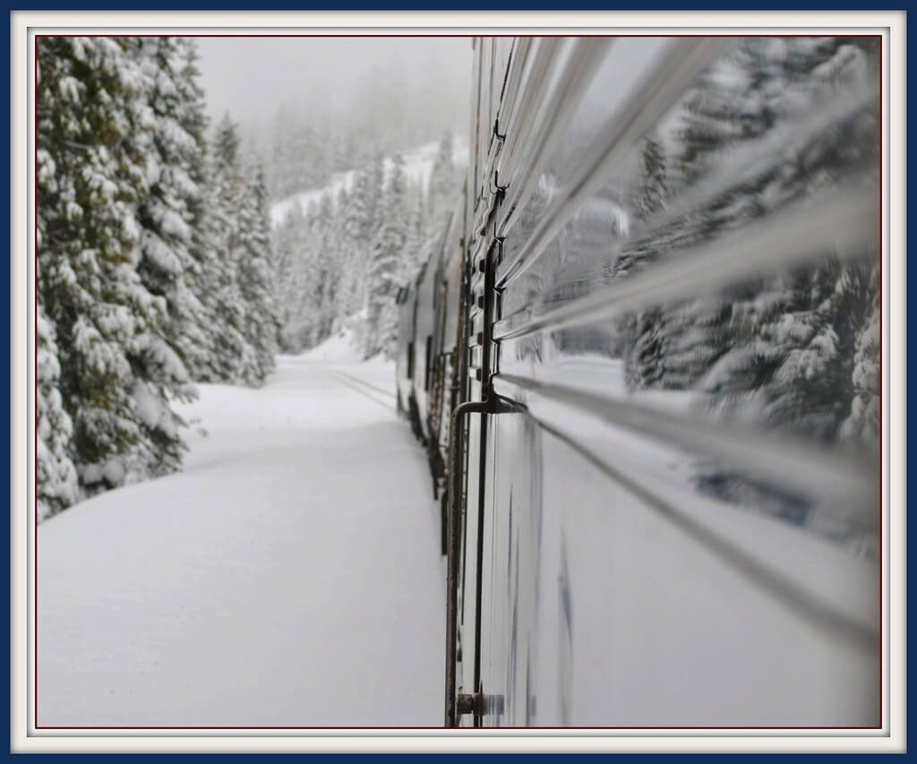 Amtrak Truckee Winter Ski Train