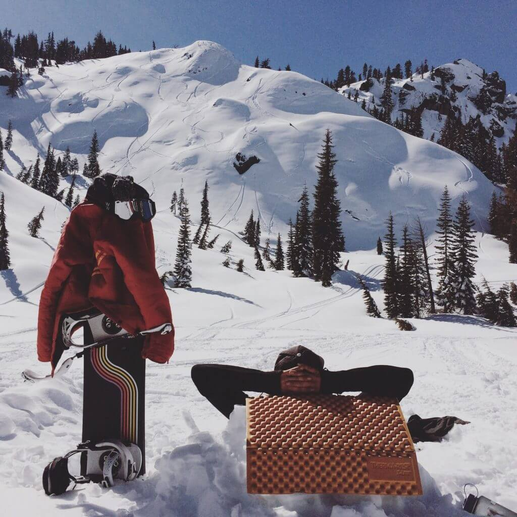 Lake Tahoe backcountry skiing with Owner Operator Outerwear